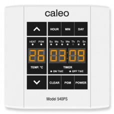 Терморегулятор Caleo 540 PS (Накладной, программируемый, сенсорный 4 кВт)