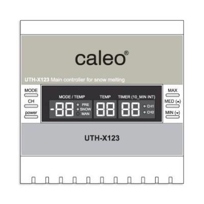 Метеостанция двухканальная Caleo UTH-X123ST для систем обогрева кровли и площадок, инструкция, установка своими руками, фото, купить в Красноярске