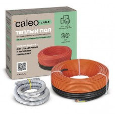 Кабельный теплый пол CALEO CABLE 18w-10 (0,18кВт/0,9-1,4м2)