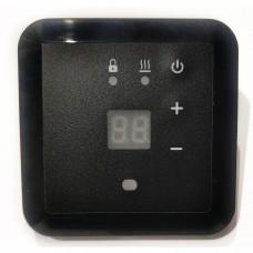 Терморегулятор Эрголайт ТР-09 черный (Встраиваемый, кнопочный 3,5 кВт)