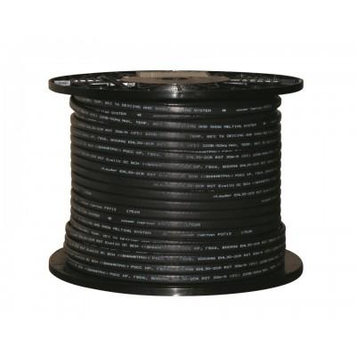 Греющий кабель саморегулирующийся для обогрева труб и кровли (c защитным экраном) xLayder EHL30-2AR RST 30 Вт/ пог. м